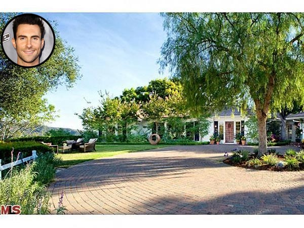 Adam Levine Moves Into a New Beverly Hills Home
