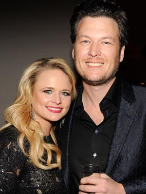 Blake Shelton, Miranda Lambert Crazy in Love PEOPLE Cover Story