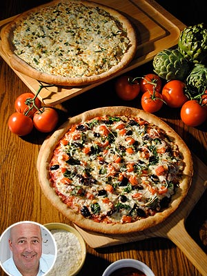 Veterans Day: Andrew Zimmern Creates Charity Pizzas for UNO Chicago Grill