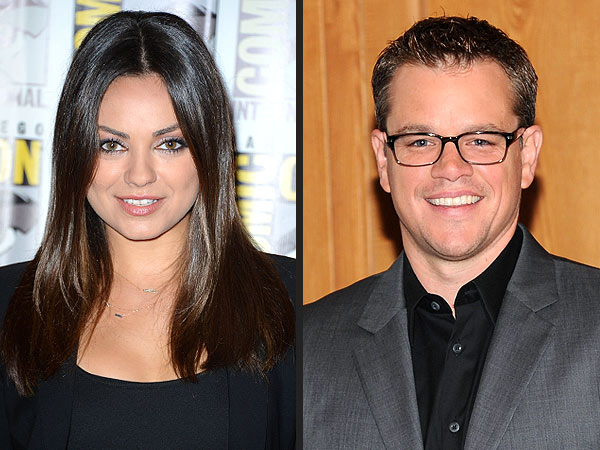 Mila Kunis & Matt Damon Get Political in New Projects