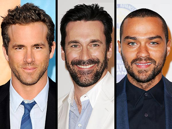 Sexiest Man Alive: Jon Hamm, Ryan Reynolds, Jesse Williams Are Scruffy Men