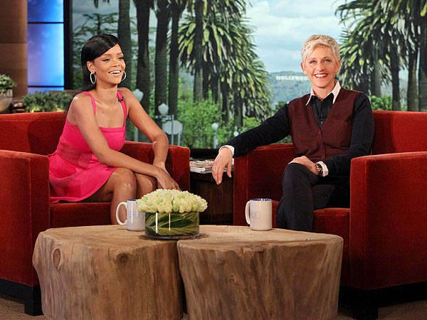 Rihanna Talks About Her Dating Life with Ellen DeGeneres