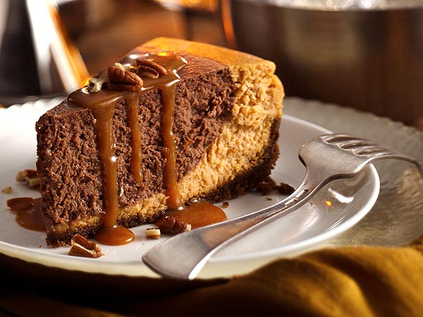 Thanksgiving 2012: Betty Crocker Chocolate Pumpkin Cheesecake Recipe