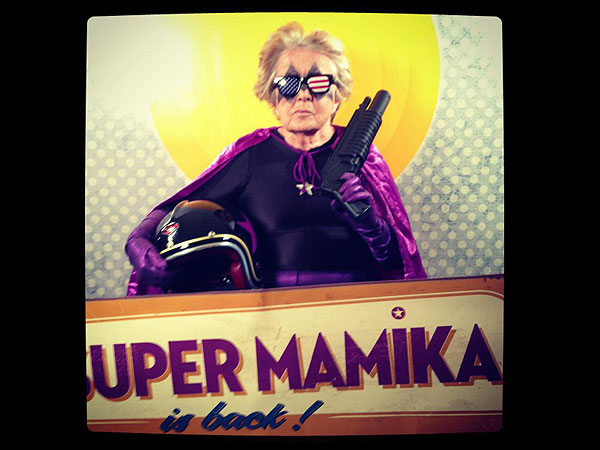 Sacha Goldberger, Frederika Goldberger - Mamika Grandma Superhero