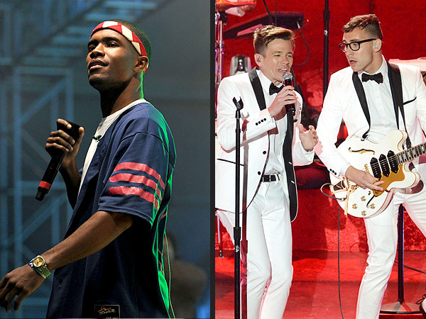 Grammy Nominations: Frank Ocean, FUN Get 6; Taylor Swift Nominated