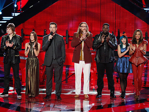 The Voice Reveals Top Four Contestants