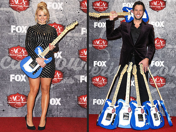 Miranda Lambert & Luke Bryan Win at American Country Awards