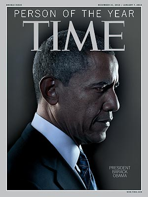 Time Person of the Year Is President Barack Obama
