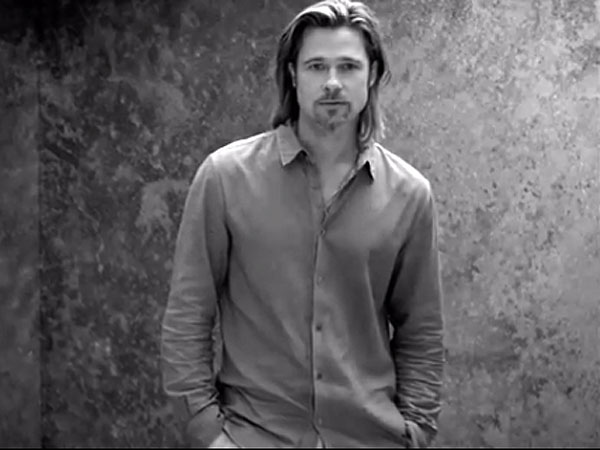 Brad Pitt's Chanel Ad Gets Spoofed on Saturday Night Live