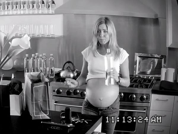 Jennifer Aniston Pregnant in New Smartwater Ad; Watch Funny Video