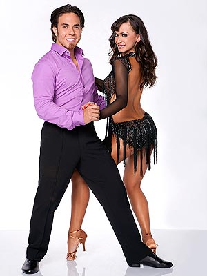 Dancing with the Stars: Apolo Ono Blogs for Shawn Johnson
