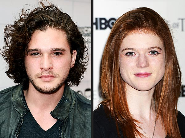 Game of Thrones's Kit Harington Dating Rose Leslie?