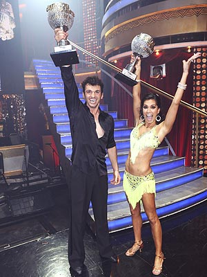 Dancing with the Stars All-Star Finals -- Melissa Rycroft Is Crowned