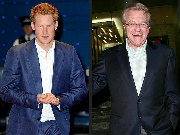 Jerry Springer Thinks Prince Harry's Nude Photo Controversy Is 'Funny'