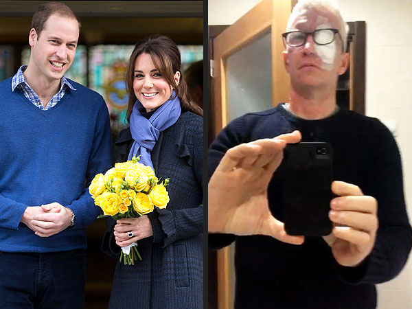 Kate Middleton & Anderson Cooper Get Love and Inspire Awe from Readers