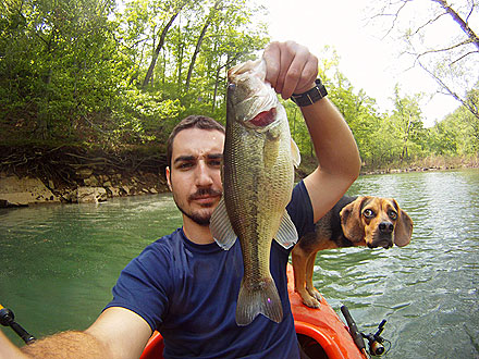 Begging for Bass! Photo of Fish-Loving Dog Goes Viral