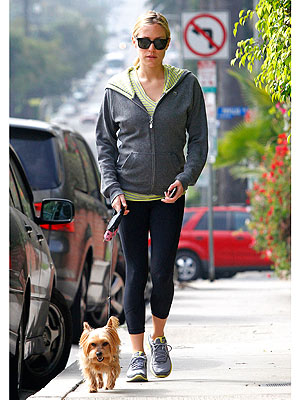 Pregnant Kristin Cavallari Walks Dog