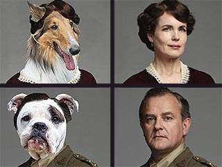 Downton Abbey Characters Get Reimagined as Dogs
