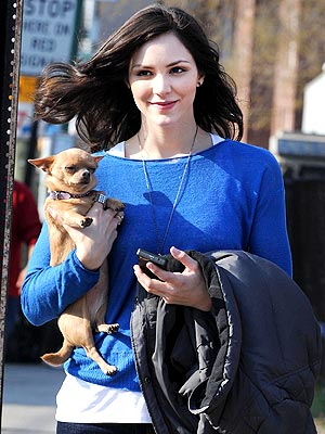 Katharine McPhee Never Thought Her Dogs Would Be Famous
