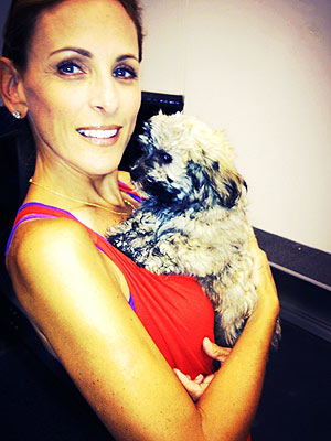 Marlee Matlin Adopts a Puppy