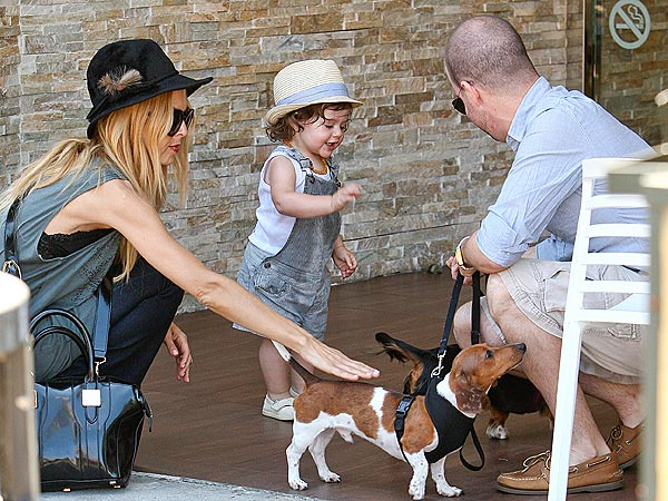 Rachel Zoe and son Skyler Morrison: Photo