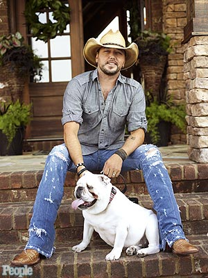 Jason Aldean and Bulldog Athens: PEOPLE Country
