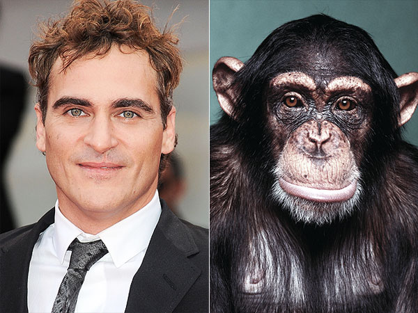 The Water Bowl: Joaquin Phoenix Plays 'Pet Monkey' in New Movie