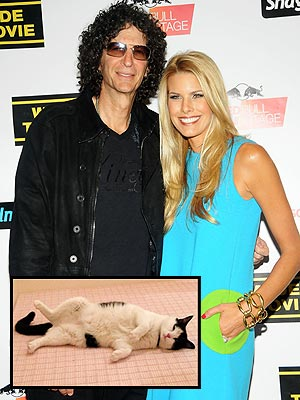 Howard Stern, Wife Beth Adopt Cat Named Charlie Boy