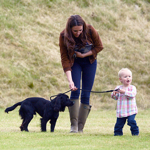 Prince William and Kate's Lucky Little One: Lupo!