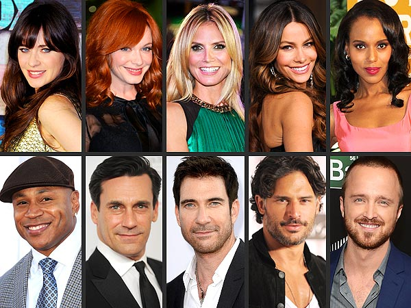 Who's TV's Sexiest Man and Woman?