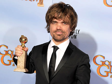 Martin Henderson - Peter Dinklage Gives a Shout-Out at Golden Globes