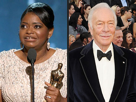 Oscars Honor Octavia Spencer, Christopher Plummer