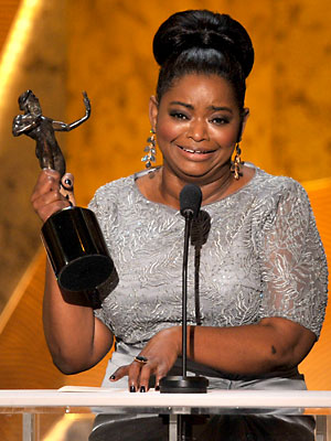 Screen Actors Guild Awards: Octavia Spencer Discusses Her Weight