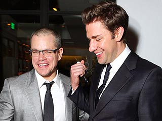 Star Tracks: Star Tracks: Friday, December 7, 2012 | John Krasinski, Matt Damon