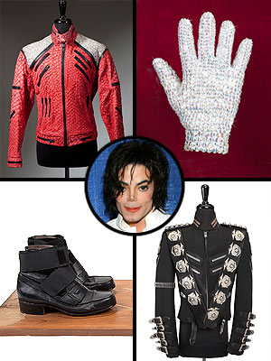 Iconic Michael Jackson Costumes Hitting the Auction Block