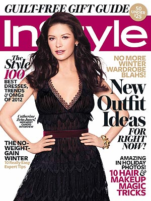 Catherine Zeta-Jones Talks Bipolar Disorder in InStyle