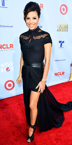 One Night, 10 Gowns: Eva Longoria's ALMA Awards Style