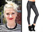 The Faux Leather Leggings You Should Own | Gwen Stefani