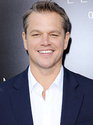 Matt Damon Has a Secret 'Man Area' at Home
