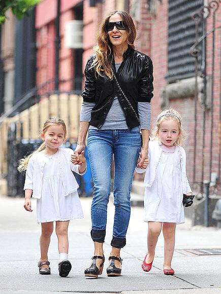 Mini Chic! Tabitha and Loretta Broderick's Adorable Twin Style