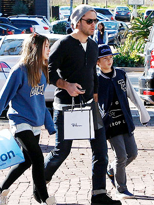 Jude Law's Sweet Family Outing in Beverly Hills