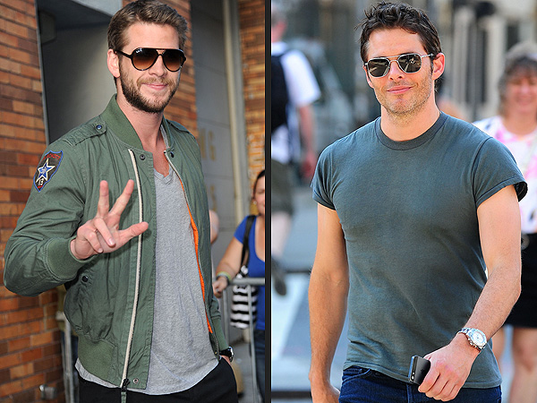 Liam Hemsworth & James Marsden's Sunday Funday with the Boys