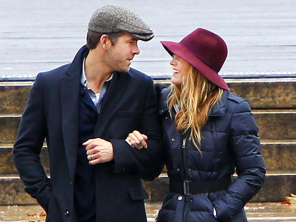 Brrr! Blake Lively & Ryan Reynolds Bundle Up in N.Y.C.
