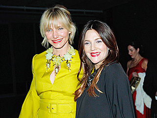 Besties Drew Barrymore and Cameron Diaz Double Date in Manhattan