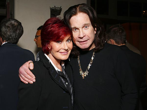 Ozzy & Sharon Osbourne Share 'Romantic' Grammys Moment