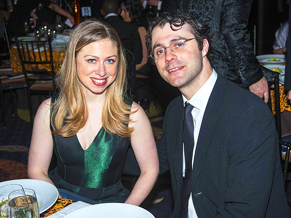 Chelsea Clinton, Marc Mezvinsky at Dance Theatre of Harlem Vision Gala