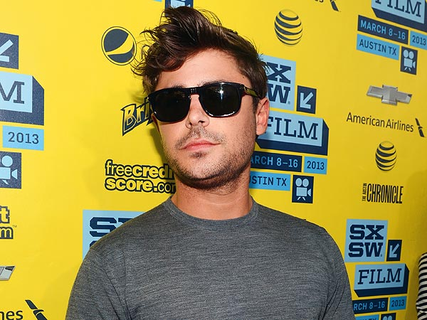 Zac Efron Gets 'Super Flirty' at SXSW
