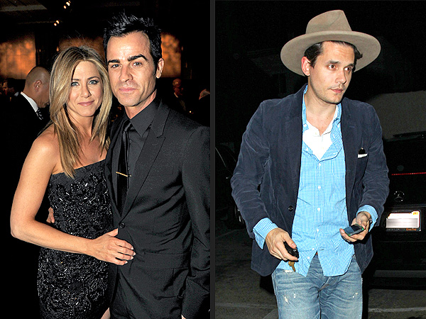 Jennifer Aniston & John Mayer Dine Two Tables Away From Each Other in West Hollywood