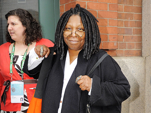 Whoopi Goldberg's Lavish Behind-the-Scenes Lunch in N.Y.C.
