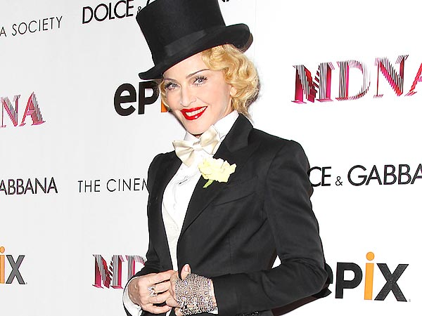Madonna Busts a Move to Beyoncé in N.Y.C.